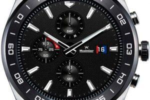 Produktbild von LG W7 Smartwatch (3,04 cm/1,2 Zoll, Wear OS by Google), silberfarben