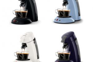 Produktbild von PHILIPS Senseo Original HD6554 Kaffeepadmaschine 1450 Watt