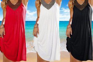 Produktbild von 1x, 2x oder 3x Damen-Kleid Lola Balotti in der Farbe nach Wahl